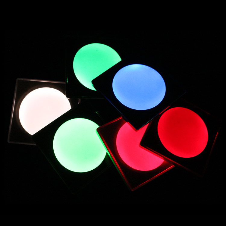 Color change LED Light Drink Beer Glow Cup Coaster