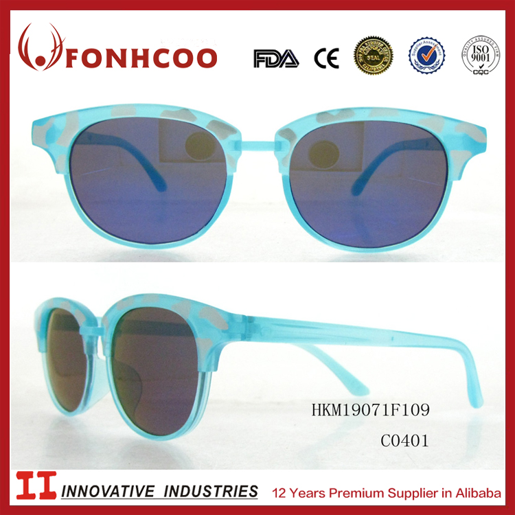 FONHCOO Brand Sunglasses Factory Korean Fashion Simple Style Kids Sun Glasses
