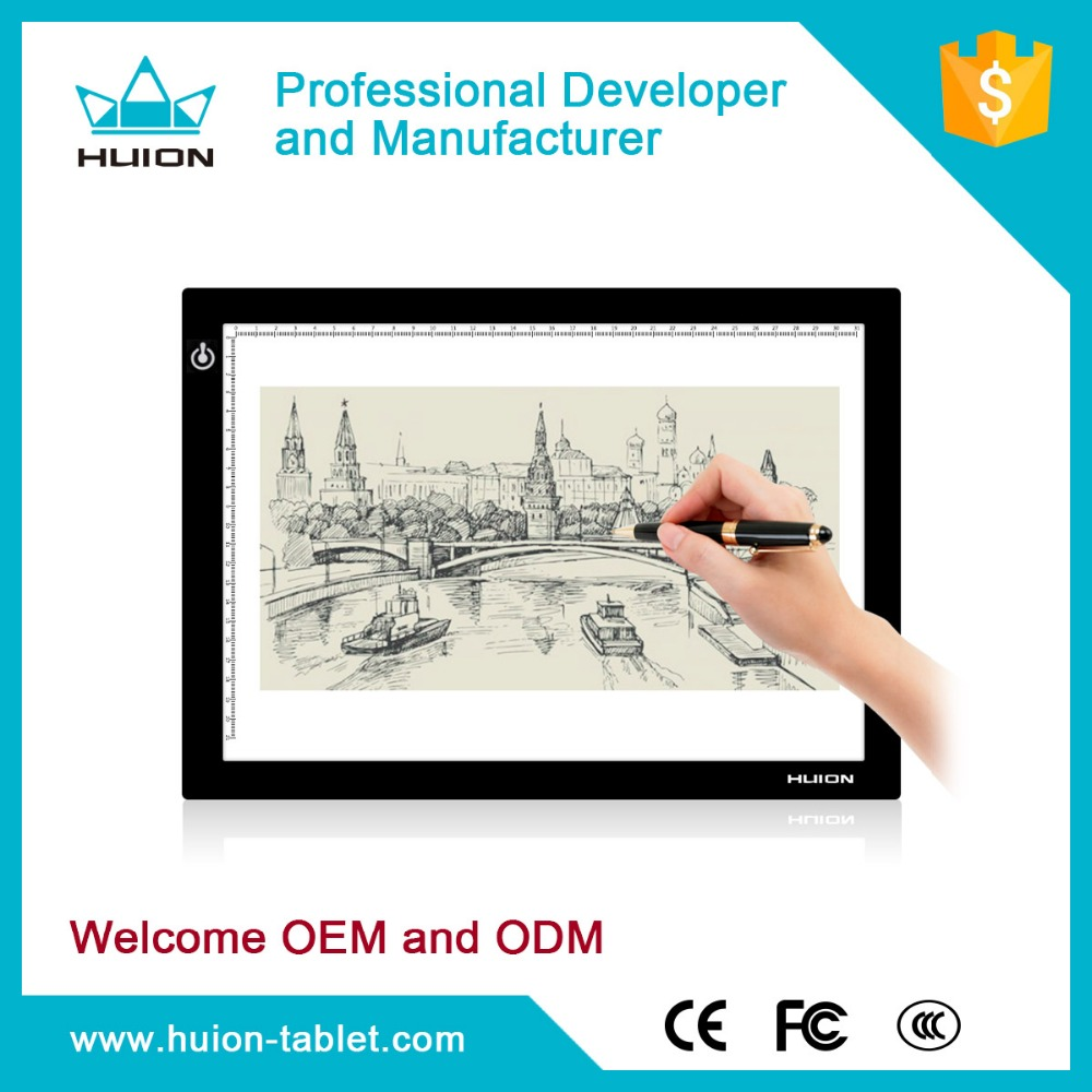 Hot sale!!! Huion L4S USB powered LED Slim Tracing light box Led Drawing Table