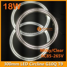 circular led ring light,led 300mm light red