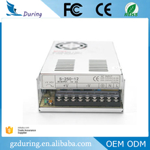 AC to DC switch power supply 24V 10a 250w Power supply with single output