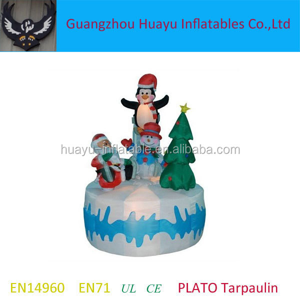 Inflatable Spider Model,snow festival model inflatable,Inflatable snowball for christmas for sale