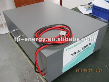 large solar lifepo4 battery 48V 125Ah