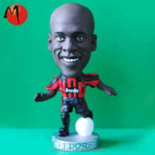 2015 popular customzied 3d soccer player pvc figure toy for collection