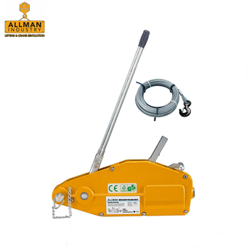 ALLMAN 1760lbs 800kg aluminum alloy hand operated tirfor winch