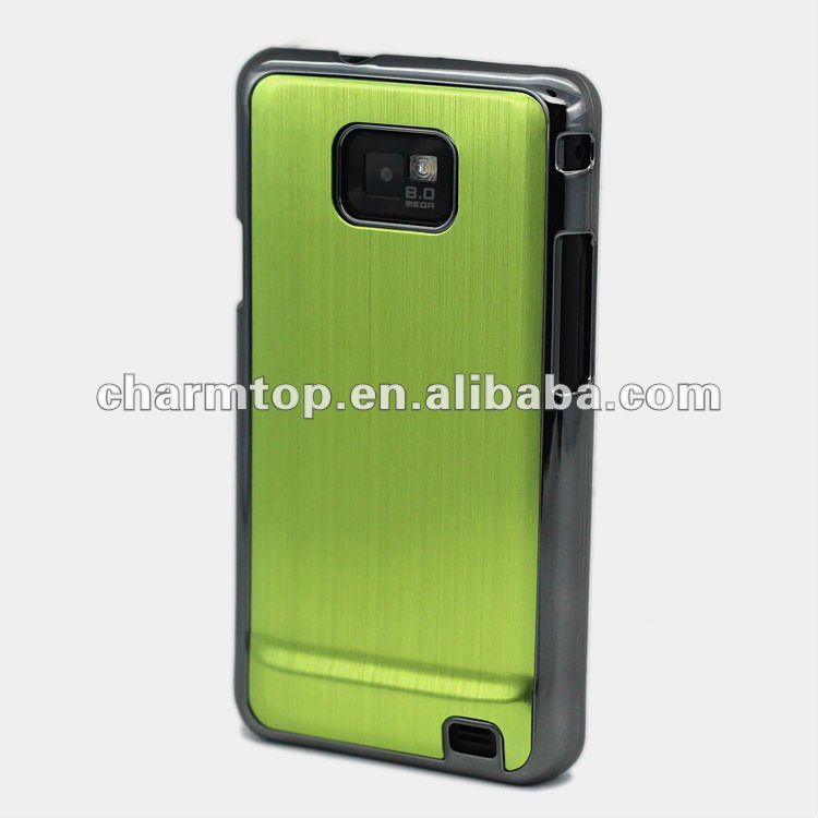 Green Aluminum Case for Samsung i9100 Galaxy S2