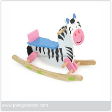 Wooden material kids horse play set for sale