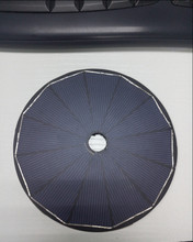 Peel And Stick 1.8W 6V 128mm Diameter Circular Solar Panel