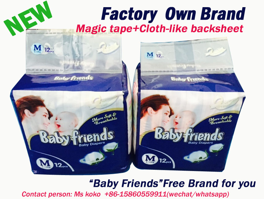 2018 Africa Market Top selling good quality wholesale cheap price baby diaper for Togo Benin Nigeria Sierra leone