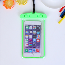 Universal Night Fluorescence Waterproof cell phone case