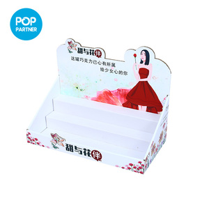 Custom Cheap Shop Food Counter Top Display for Sweets