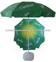2m promotion custom printed beach umbrella for advertisment