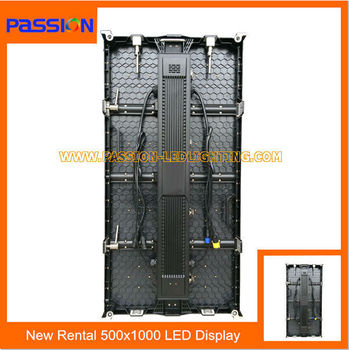 hot sale patent indoor slim rental LED screen for stage concert