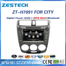 "Factory OEM 2din 7"" car gps CD DVD player 3G radio, dashboard for honda city/"