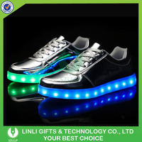 2016 Popular New Sneaker USB Charge Lighting Led Shoes,Running Sports Colorful Led Shoes,Led Illumination Party Flashing Shoes