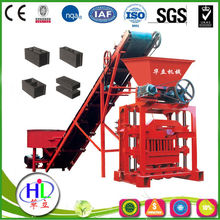 Concrete brick making machine QTJ4-35B2 cement brick making machine price in india