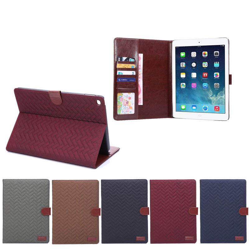 2014 hot selling leather cases for ipad air 2 accessories