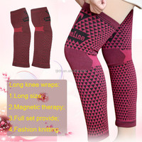 Hot sale magnetic long knee support leg support KTK-S000LE