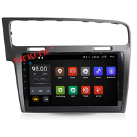 10.1 inch Android 7.1 Car audio GPS navigation For VW Golf 7 MK7 2012 2013 2014 2015 With 4G wifi DVD player radio 2GRAM