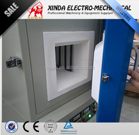 CE certificate 1400 degree box type annealing muffle furnace for sale