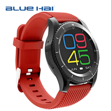 2017 New Android Smart Watch Phone 1.3 Inch Heart Rate Monitor Sport Smart Watch