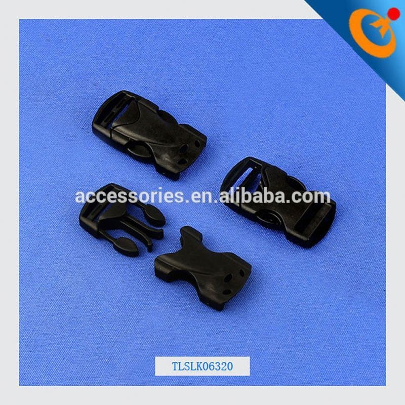 school bag buckle quick connect buckle colored plastic side release buckle for paracord