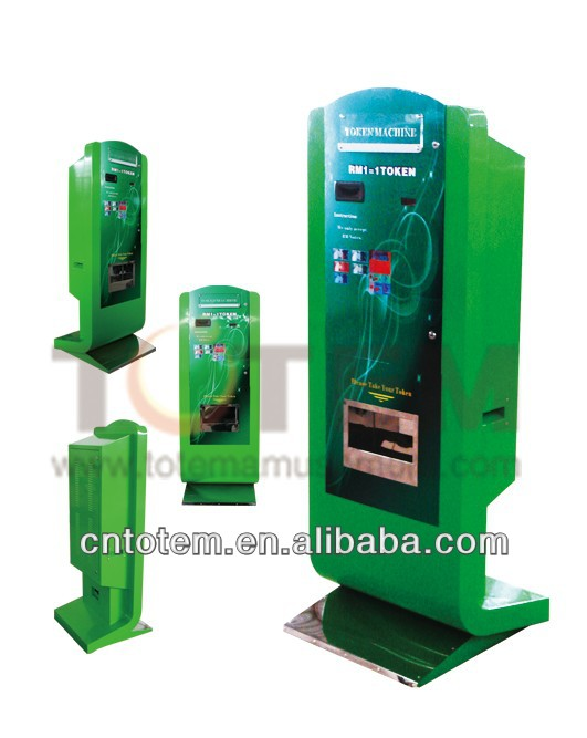 coin and bill exchange machine/ token machine