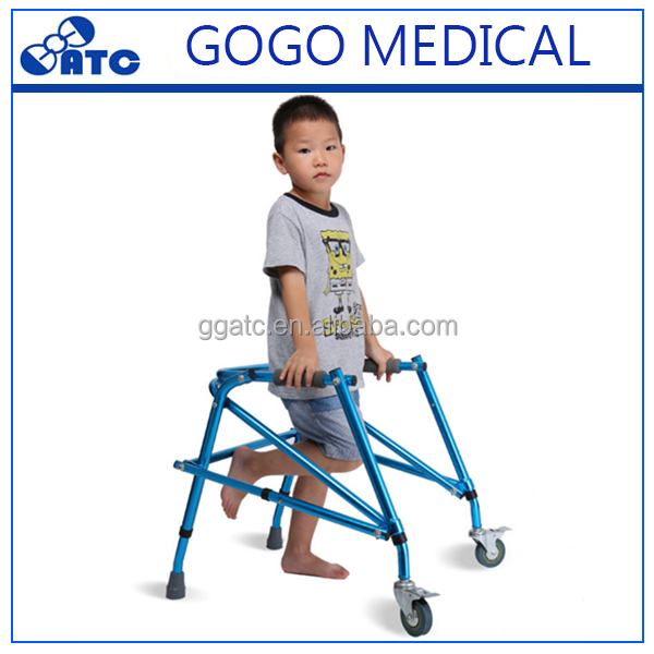 2017 New design walking aids for toddlers pediatric kids walker