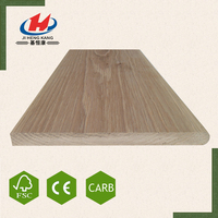 JHK- Best Price Elegant Natural Oak Veneer Price Finger Joint Board