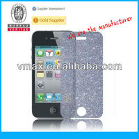 LCD diamond screen protector for iPhone 4 oem/odm