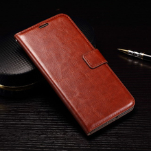 High Quality Crazy Horse Grain Oil Side Leather Cover,Flip Wallet Phone Case For Nexus 6P