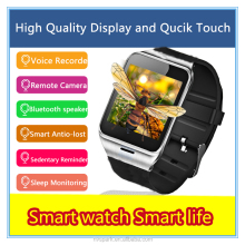 2016 High quality MTK chip mens wristwatch anti-lost touch screen wrist watch mens watch