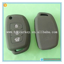 silicone key case\/key cover good quality factory price for hyundai flip key