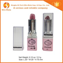 Matte Style Magic Black Red Moist Lipstick, Creating Well-Rounded, Smooth Lips 3D Lipstick