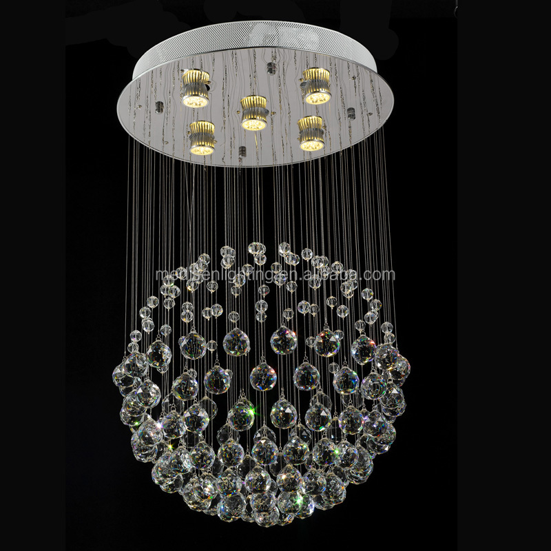 Modern Style Contemporary Lead K9 Crystal Chandelier Lamp Lights Lighting