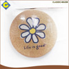 Standard size classroom cartoon flower stationery soft writing white board