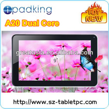 cheapest 9 inch dual core tablet tablet for wholesale.