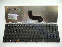 Spanish keyboard for Acer 5800 5810 5810T 5738 5536 5542