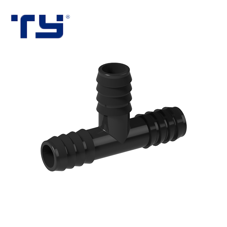 16mm High Quality Pp Compression Fittings Plastic Tube Tee