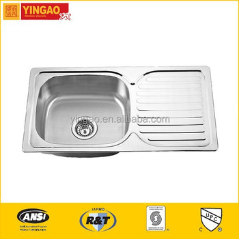 302 High quality kitchen sinks stainless steel