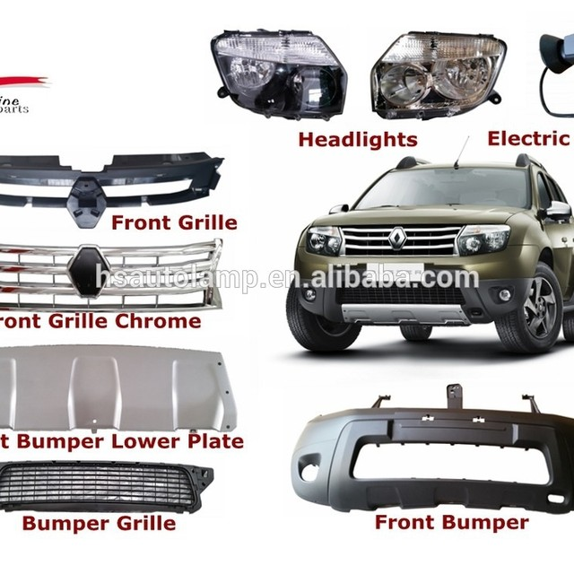 auto car front bumper for renault duster body parts