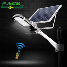 separating solar panel solar light with remote controller