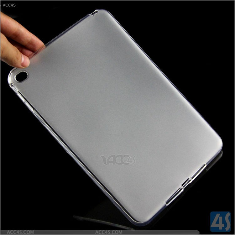New for ipad mini 4 soft case,tpu soft glossy flexible protective case for ipad mini 4