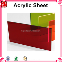 2015 popular perspex board acrylic material panel