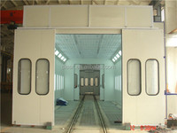trailer paint spraying cabin/painting machine,container paint booth