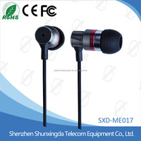2016 In-Ear Stereo Headset Earbuds mobile Earphone for all mobile phones