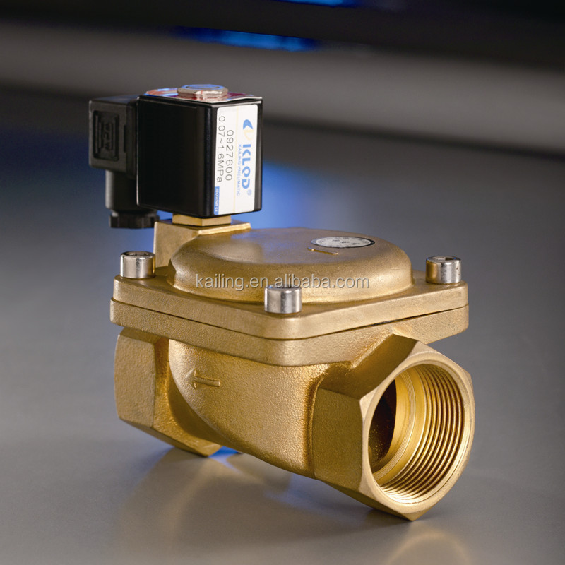 Normally Closed/Open Brass Air Water Selenoid Valve