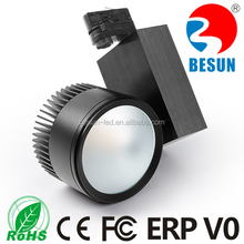 BESUN most welcome magic track led 40W 3 phase super bright lights with fireworks remote control lighting for barber shop