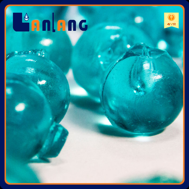 Anti algae antibacteriall blue siliphos ball for swimming pool