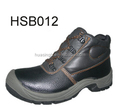 sturdy leather quality approved durable EN20345 safety shoes for work time